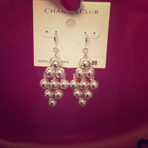 Hypo-allergenic chandelier earrings